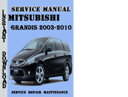 mitsubishi express workshop manual pdf