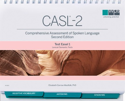 comprehensive assessment of spoken language manual