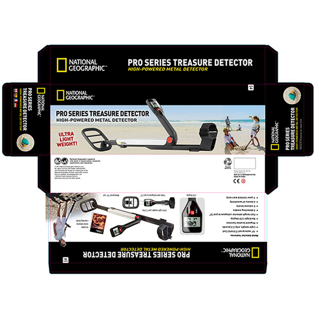 national geographic pro series metal detector manual