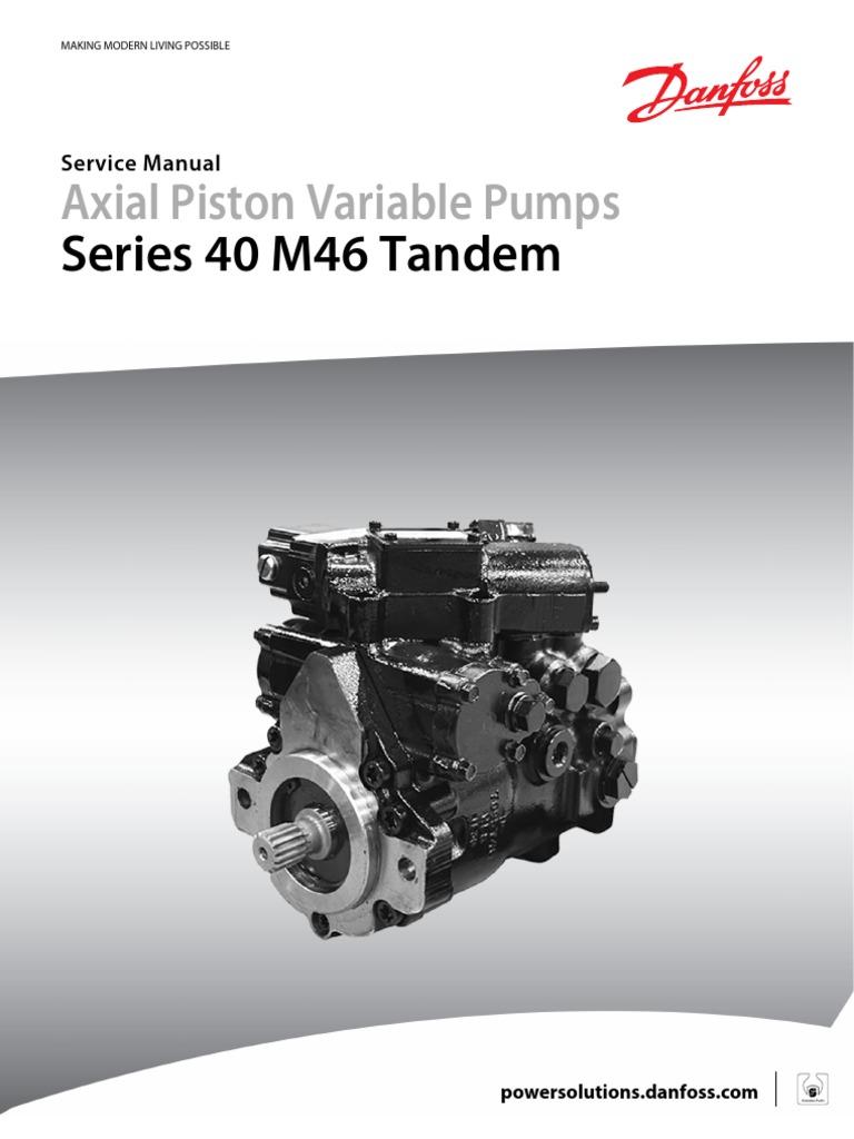 sauer danfoss 90 series pump service manual