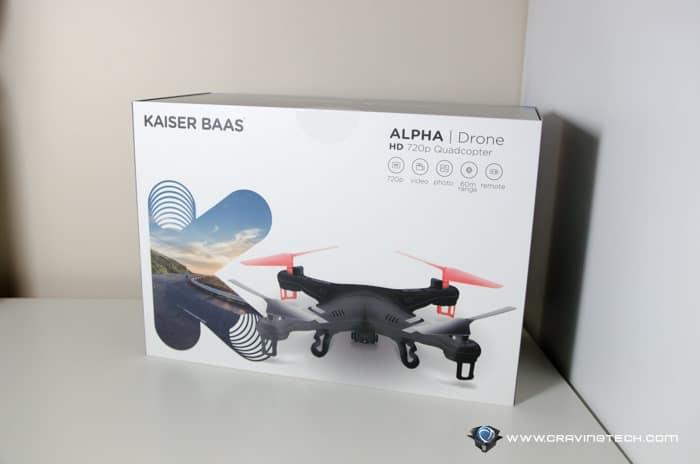 kaiser baas alpha drone manual