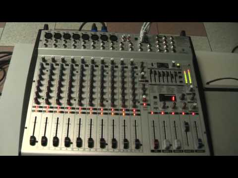 behringer europower pmp5000 powered mixer manual