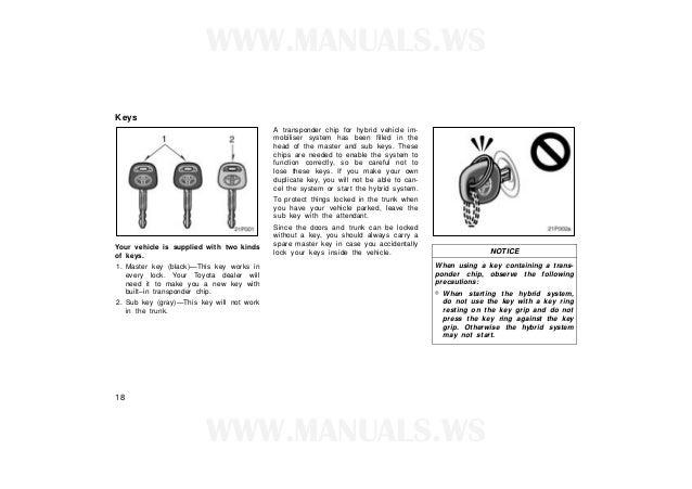 toyota prius c owners manual