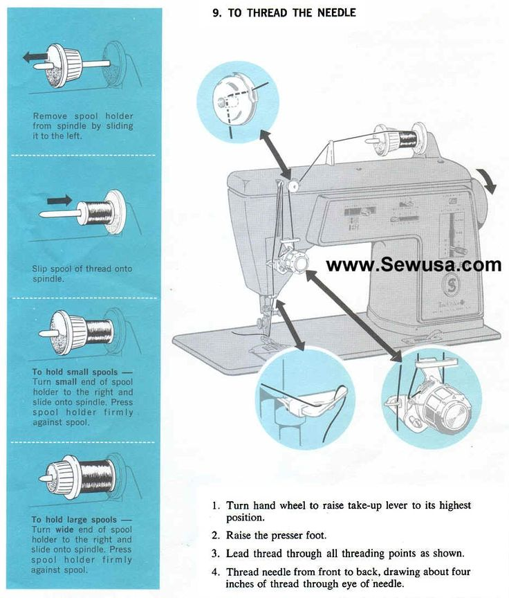 discovery kids sewing machine manual