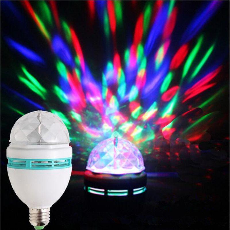 led crystal magic ball light manual