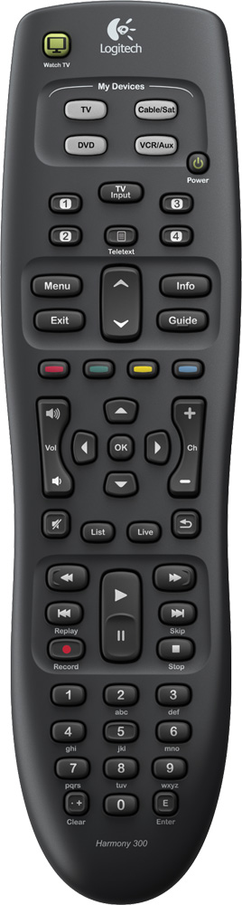 logitech harmony 200 remote manual