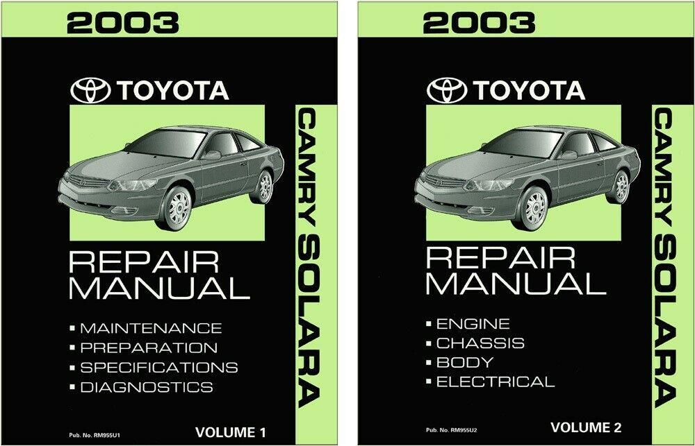 2003 toyota camry owners manual