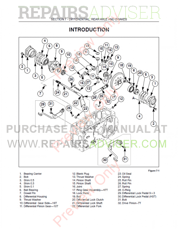 new holland ts115a service manual