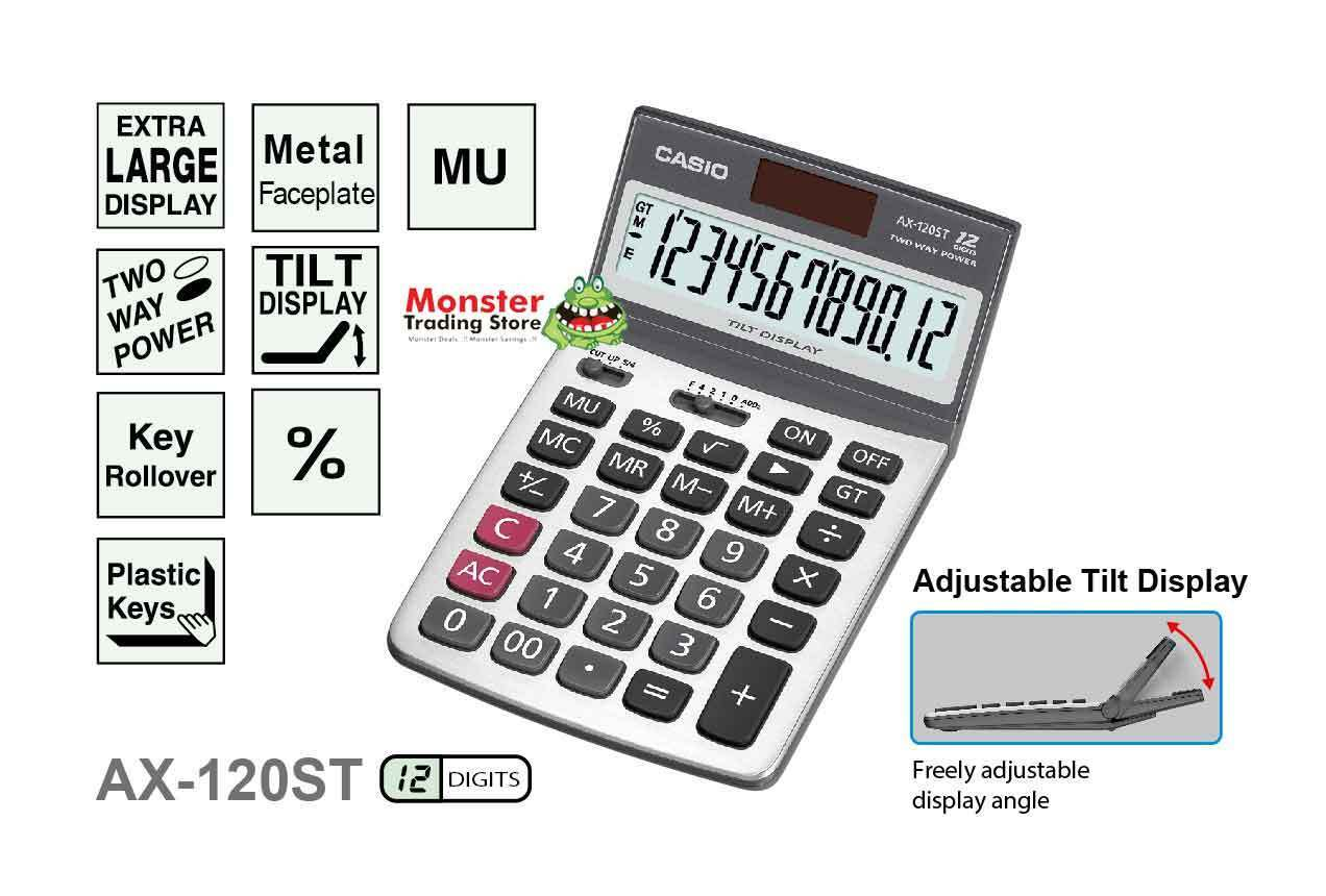 casio big 12 digit calculator manual