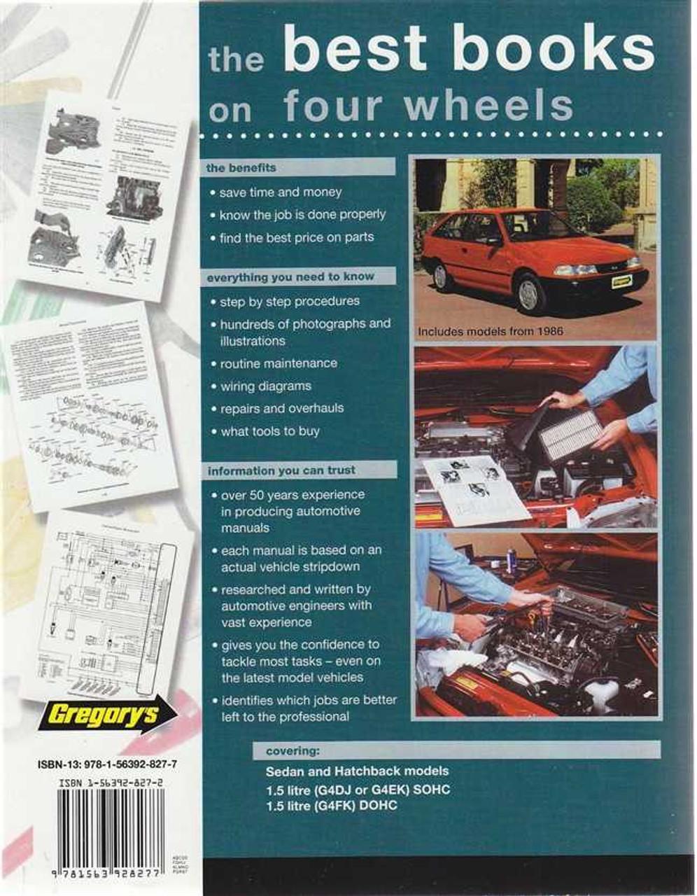 1996 hyundai excel workshop manual