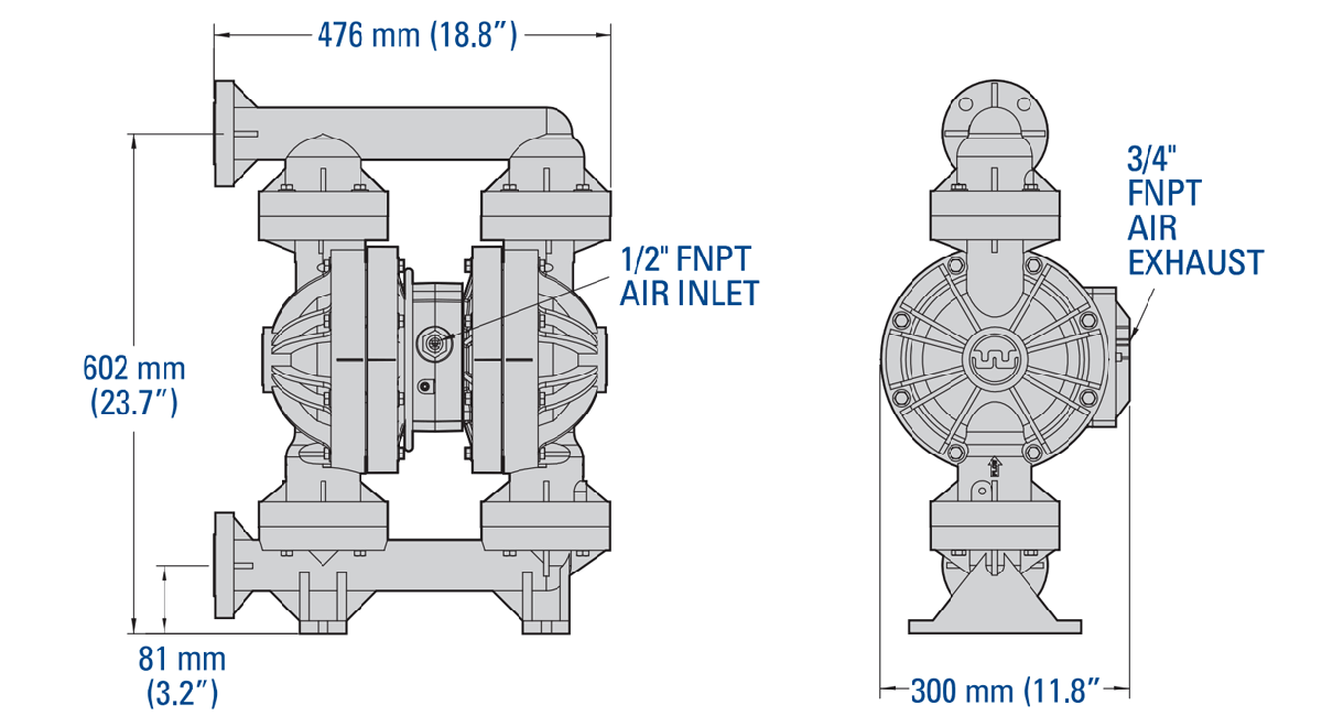 wilden p800 plastic pump manual