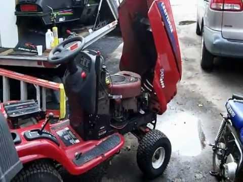 craftsman lawn mower oil change manual