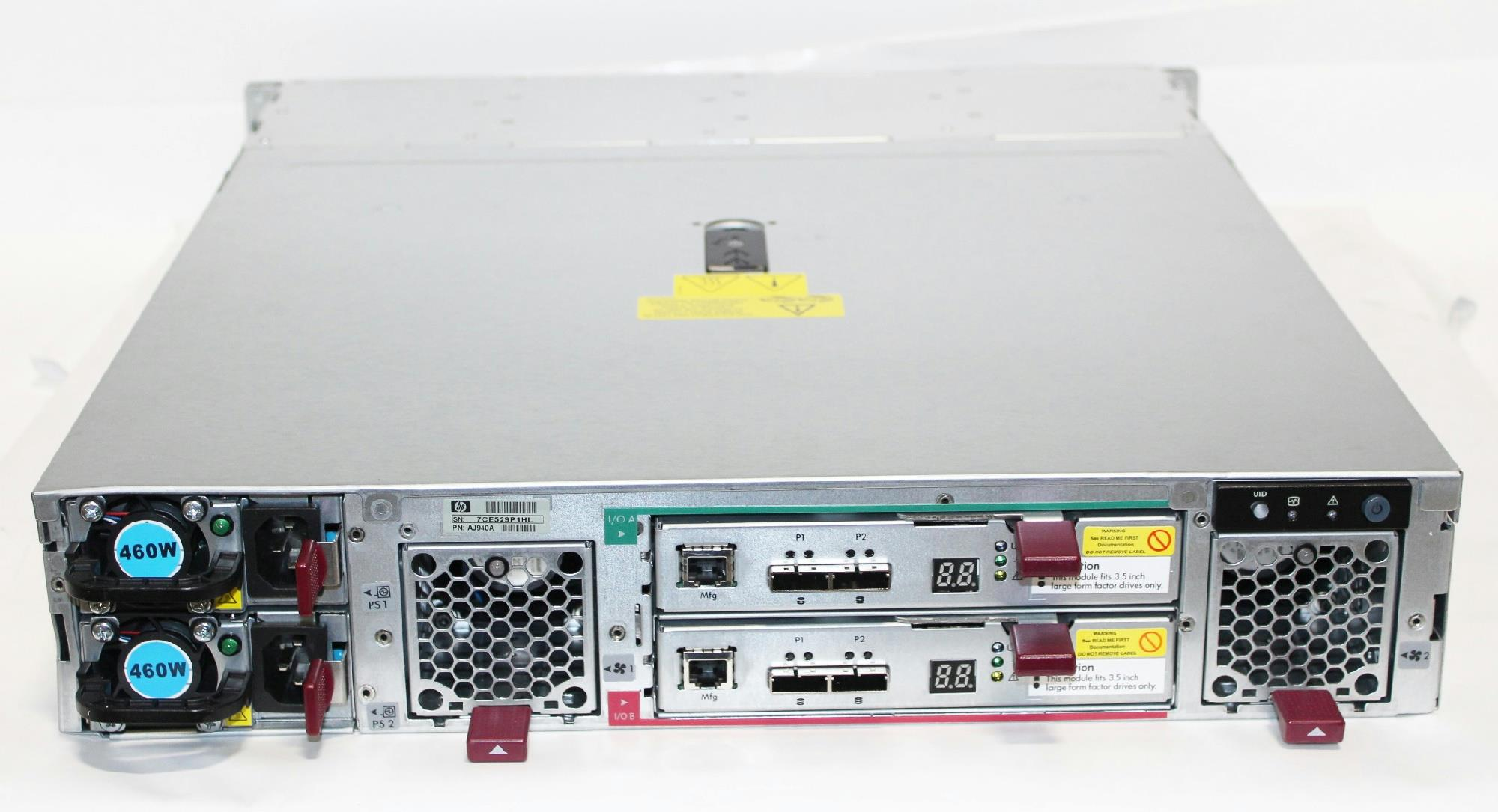 hp d2600 disk enclosure manual