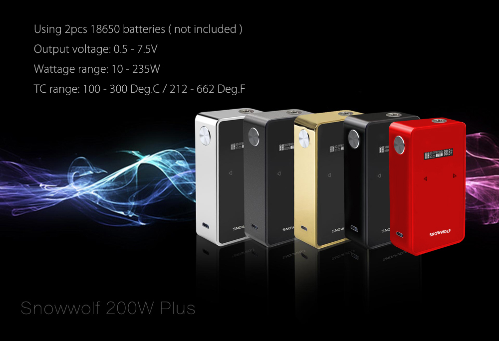 snow wolf 200w plus user manual