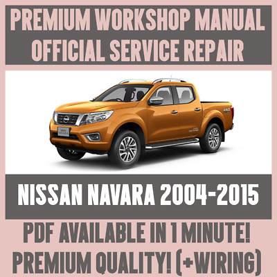 nissan navara d40 2013 workshop manual