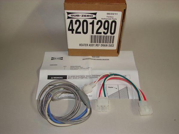 sub zero 424 service manual