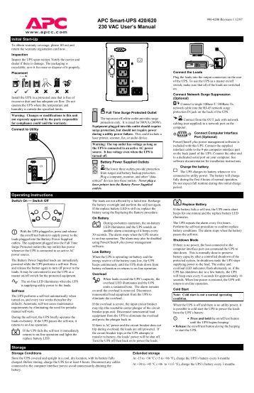apc back ups 350 manual