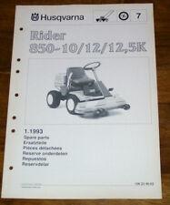 husqvarna rider 16 parts manual