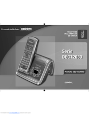 uniden wdect 2355 user manual