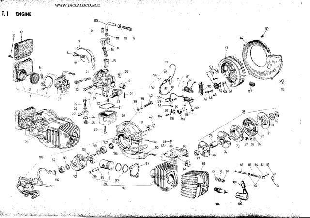 franco morini s6 engine manual