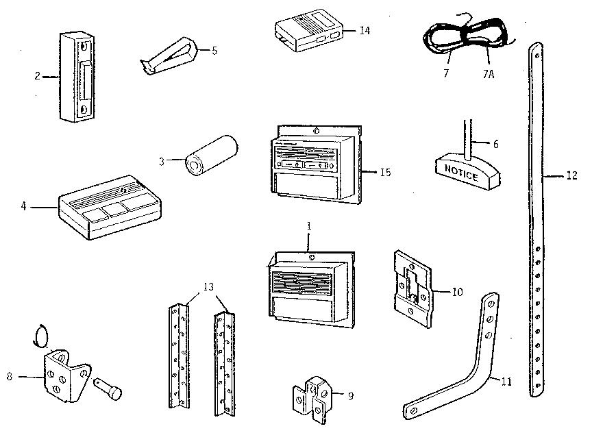 craftsman garage door opener installation manual