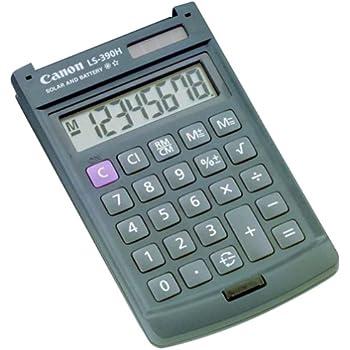 canon calculator ls 100ts manual