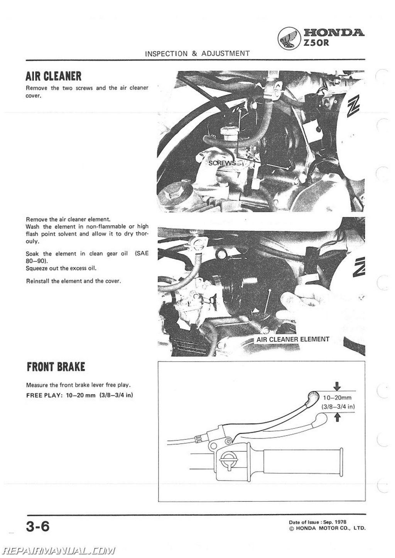 1979 honda ct70 service manual