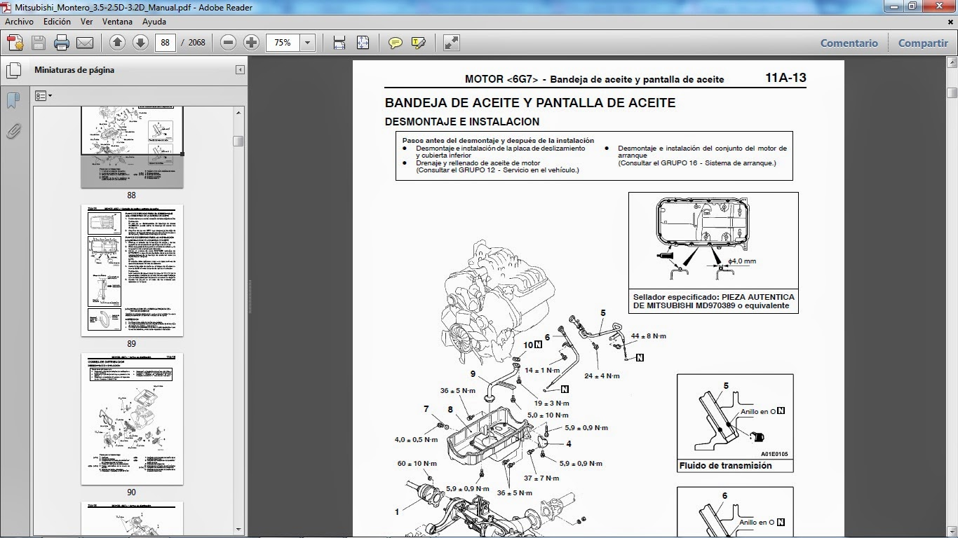 1993 mitsubishi triton workshop manual
