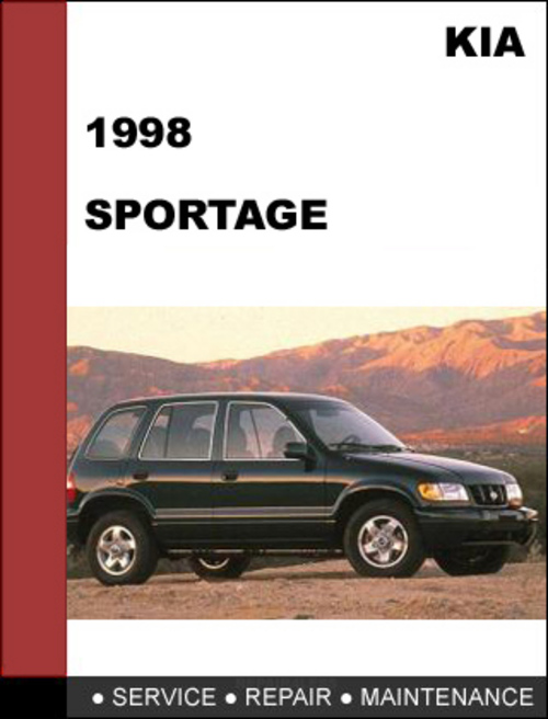 1998 kia sportage repair manual