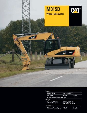 caterpillar 320 excavator manual pdf