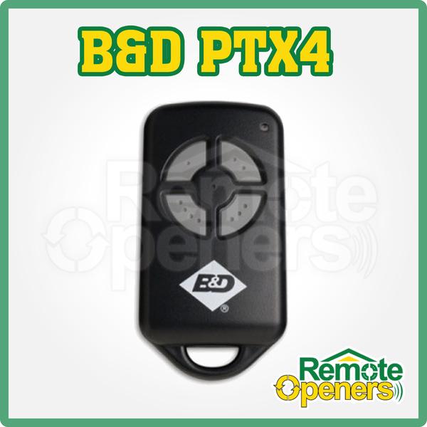 b&d panel lift door installation manual
