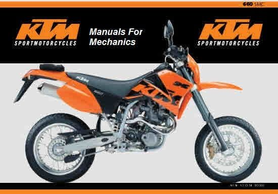 2001 ktm 300 exc service manual