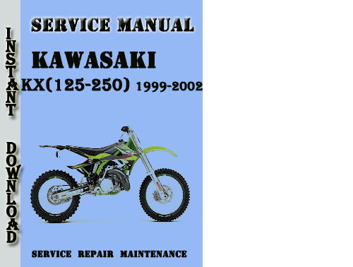 2003 kx 125 service manual