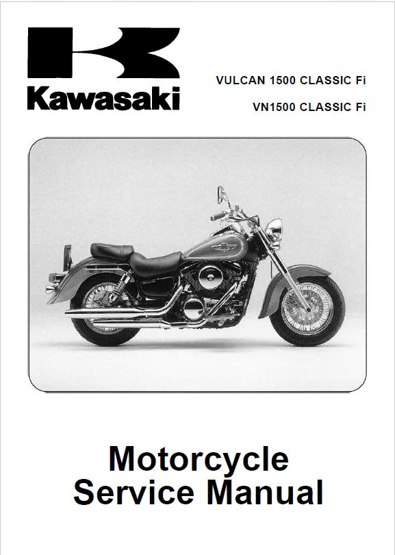 2004 kawasaki vulcan 1500 classic owners manual