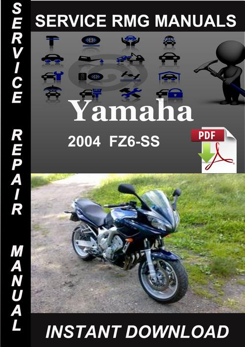 2004 yamaha fz6 owners manual