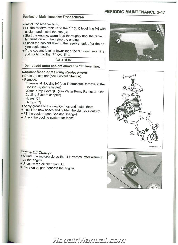 2009 kawasaki ninja 250r service manual
