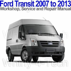 2010 ford transit workshop manual