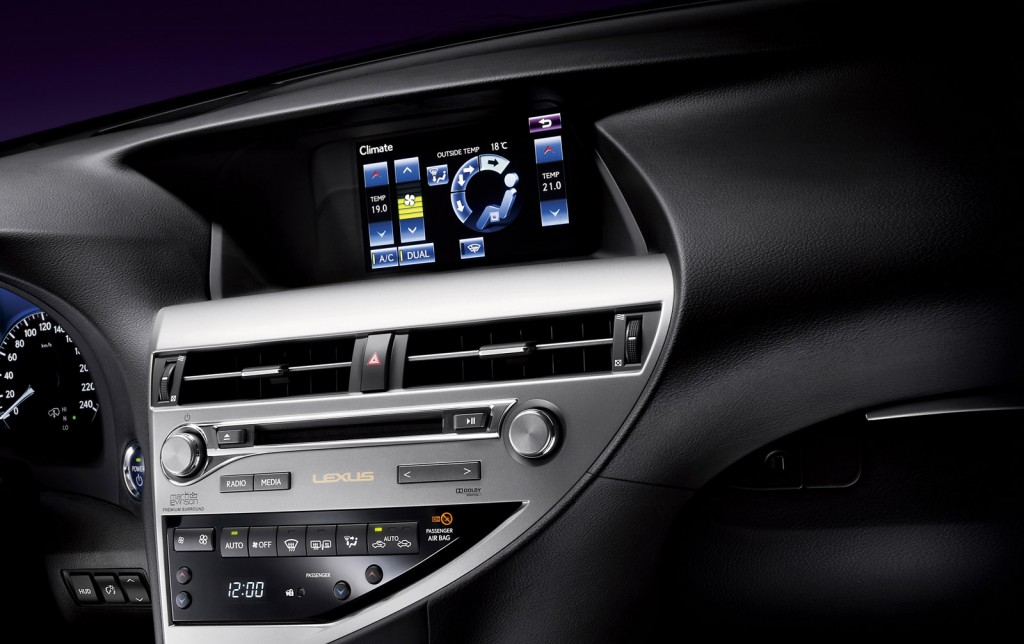 2013 lexus rx 350 manual