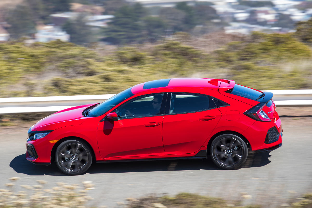 2017 honda civic hatchback user manual