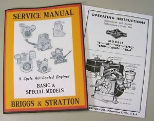 briggs and stratton repair manual free download