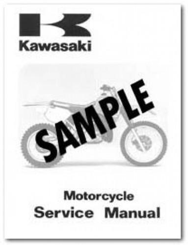 kawasaki zephyr 550 workshop manual
