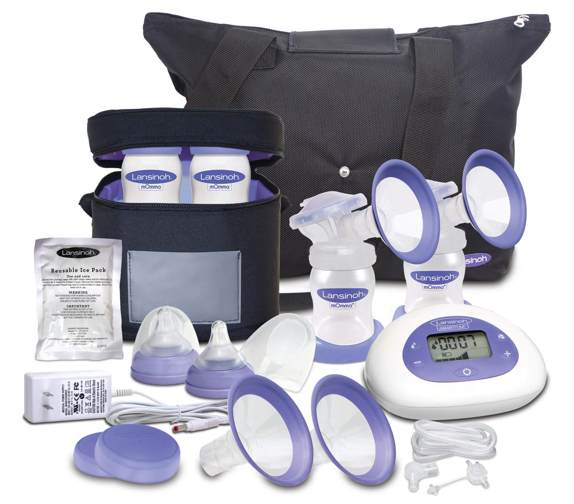 lansinoh electric breast pump manual
