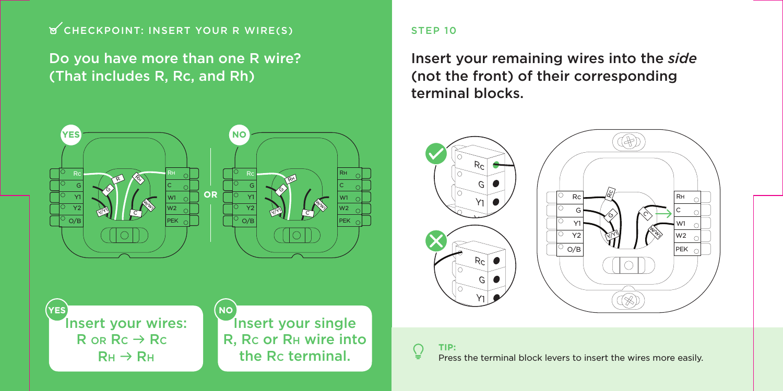 ecobee smart thermostat installation manual