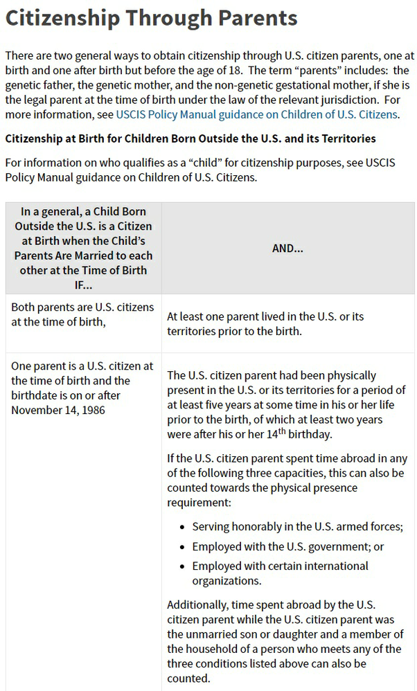 foreign affairs manual birth certificate