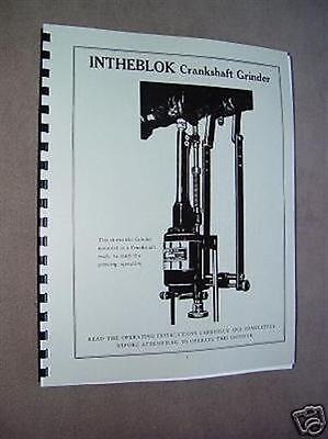 van norman flywheel grinder manual