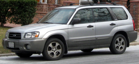 2001 subaru forester service manual