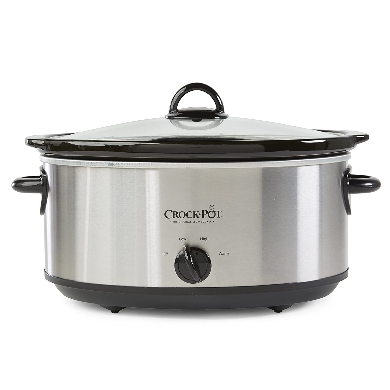 crock pot 4 quart oval manual slow cooker