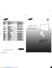 samsung led tv series 5 5000 user manual