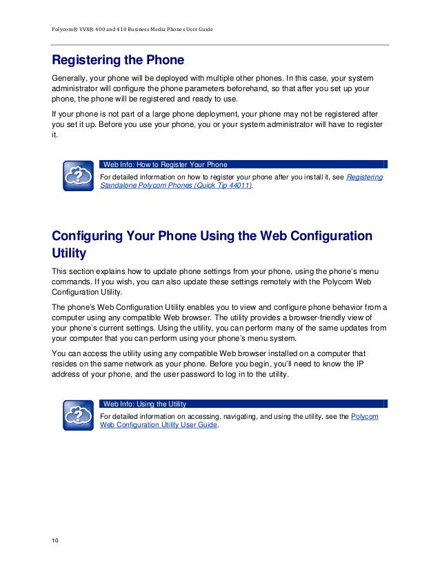 polycom vvx 201 phone manual