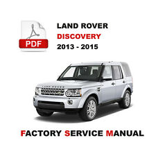 land rover discovery 4 workshop manual free